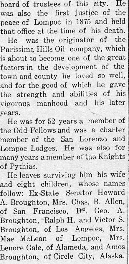 The Grand Old Man of Lompoc Was an Odd Fellow 7