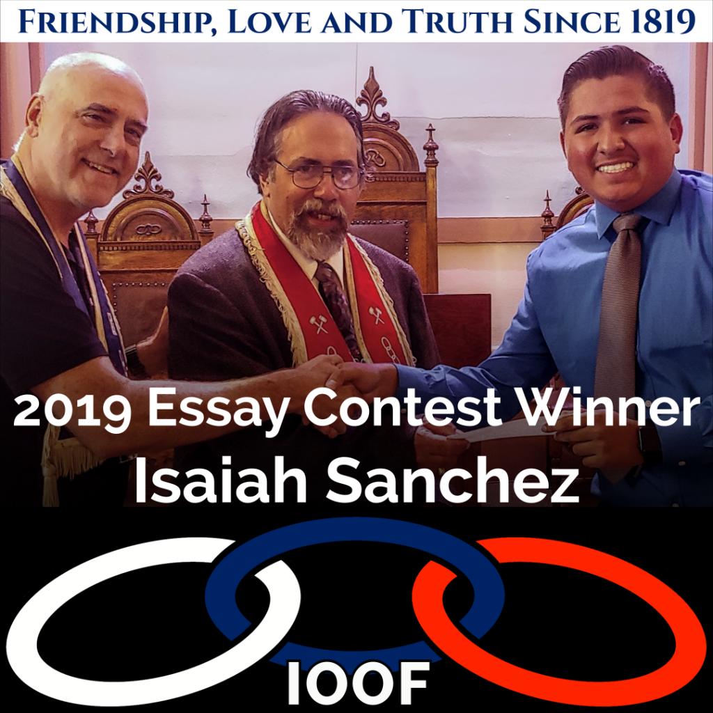 2021 Odd Fellows Essay Contest 8